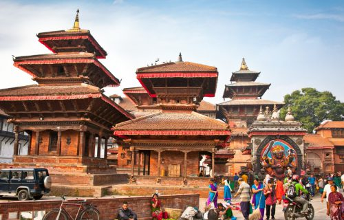 classic temple of nepal