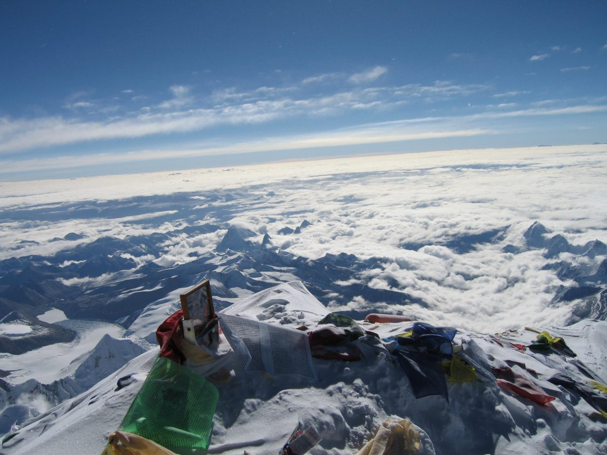 How to reach the world's largest peak in a day?