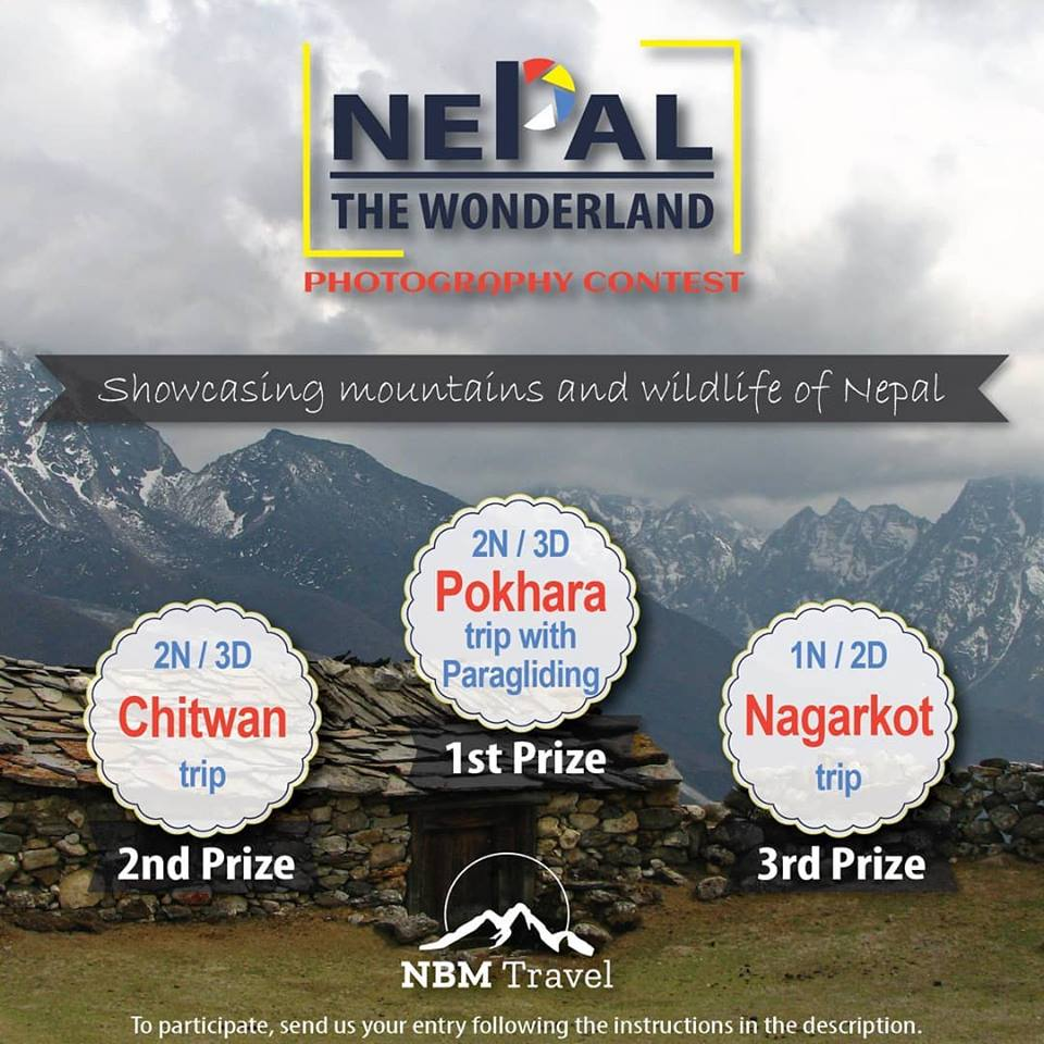 NBM Travel to conduct Photography Contest